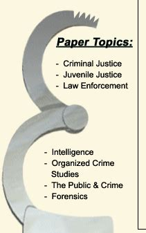 New Thesis Topics for Criminology & Law Students